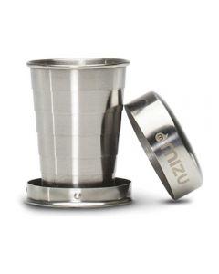 Mini stainless steel Collapsible Shot Glass Mizu
